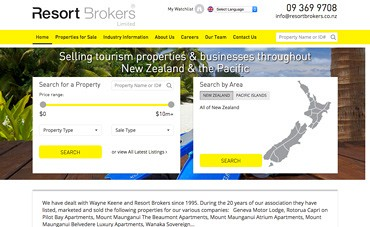 Resort Brokers New Zealand